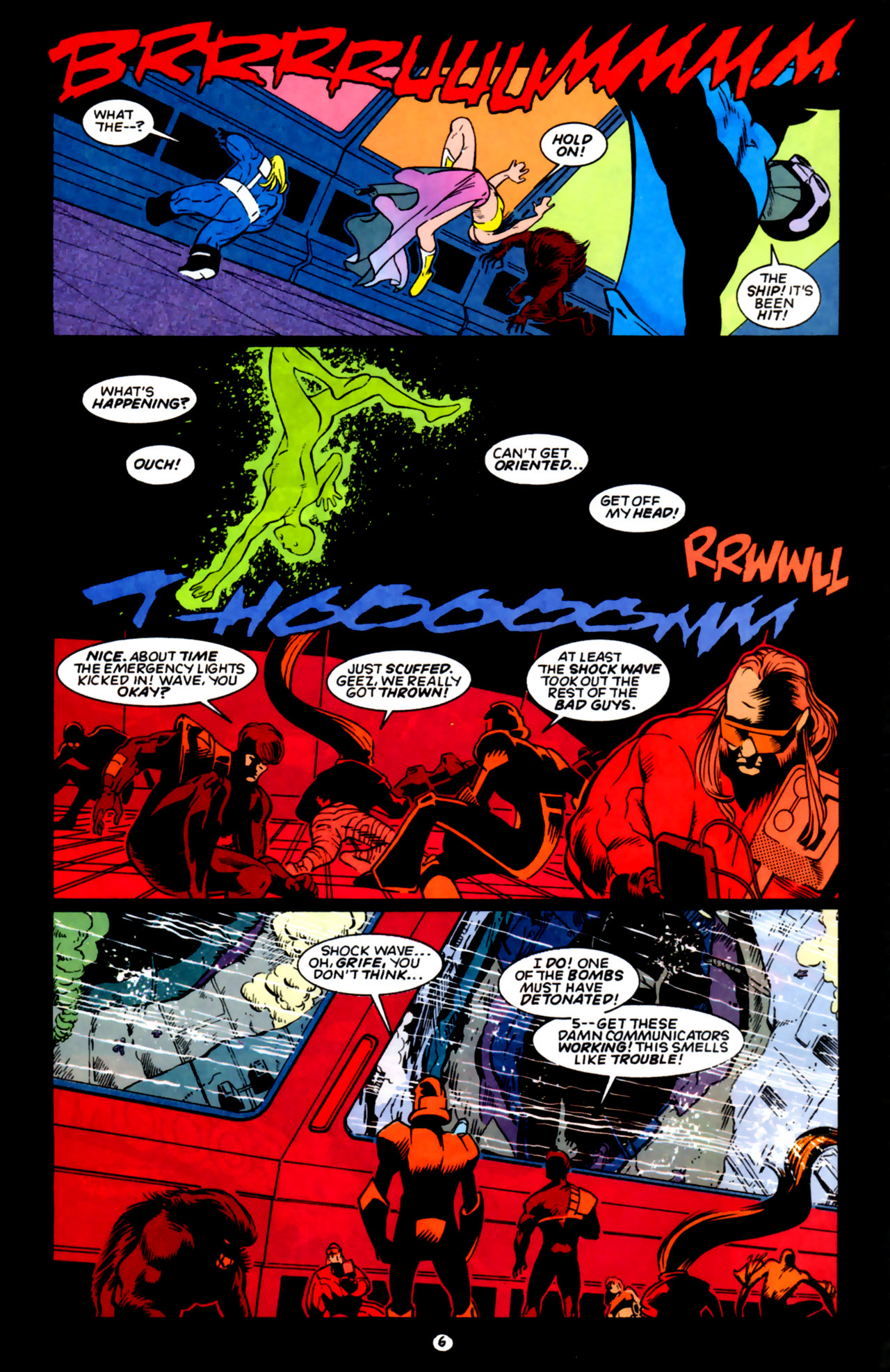 Legion of Super-Heroes (1989) 59 Page 6