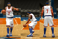 NBA 2K13 New York Knicks Jersey Patch Lighter