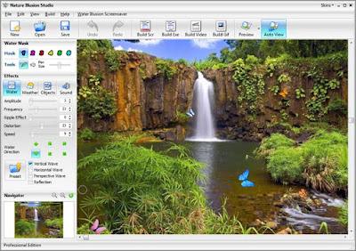 Screenshot Nature Illusion Studio 3.61 Full Version