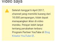 Iklan Di Video Youtube Tidak Bisa Tampil Sebelum Ditonton 10 Ribu Kali