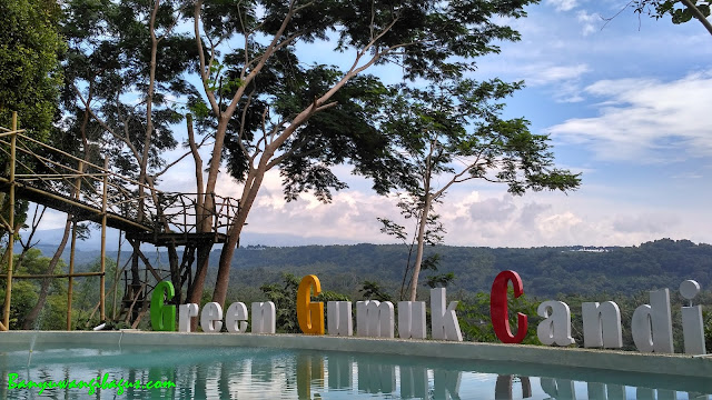 Wisata Green Gumuk Candi, Songgon.