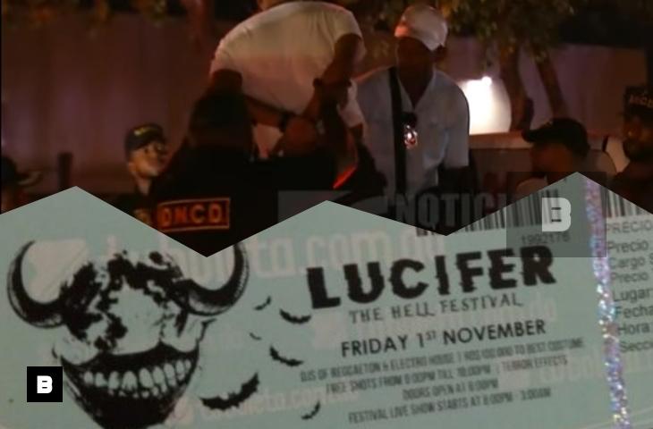 """Video: Detienen organizadores de concierto """"Lucifer, Festival del infierno"""""""