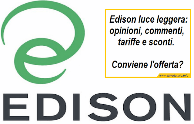 Edison luce leggera