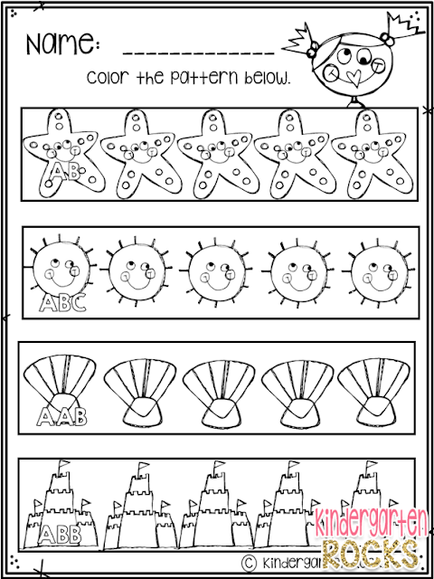 Summer Printables will help you child or students work on the skills and concepts desired at the beginning of kindergarten. Students will love the fun summer ELA and Math activities. This unit is perfect for summer school and summer themes in your kindergarten classroom.