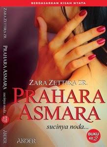 Novel Prahara Asmara 2 - Sucinya Noda