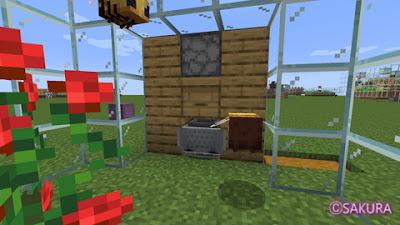 Minecraft ハチミツ・ハニカム採取機
