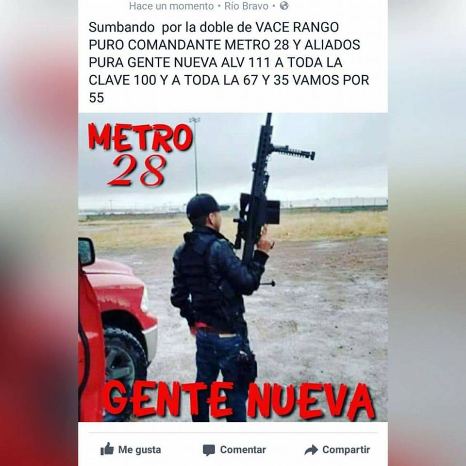 """Fotos: Trasciende en Redes: """"Vamos por toda la frontera ATT METRO 28"""""""