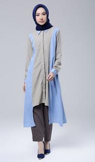 Baju tunik muslim untuk remaja modis