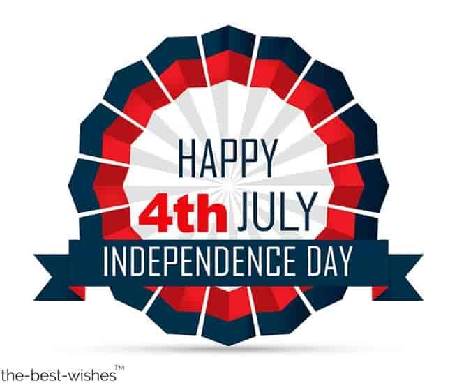 happy july 4th holiday