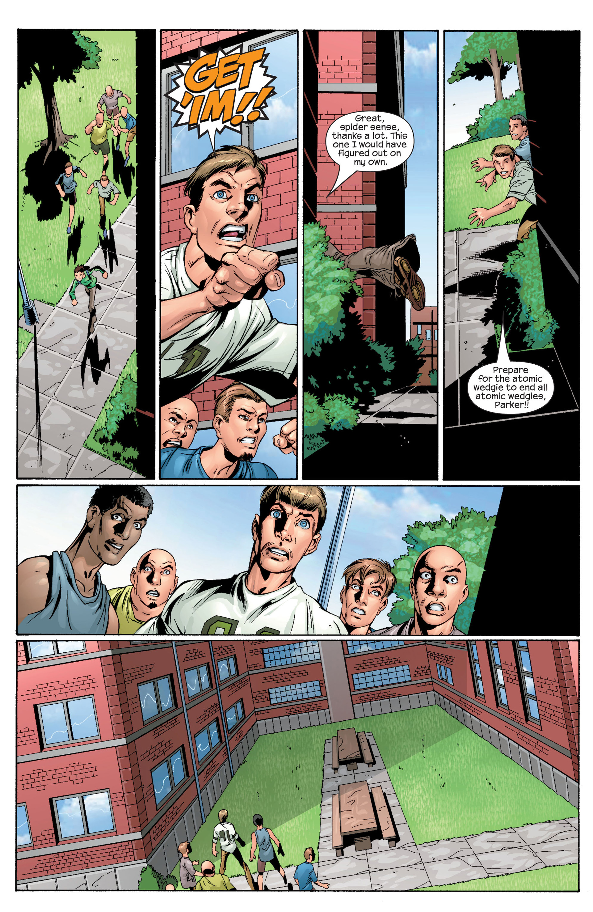 Read online Ultimate Spider-Man (2000) comic -  Issue #28 - 19