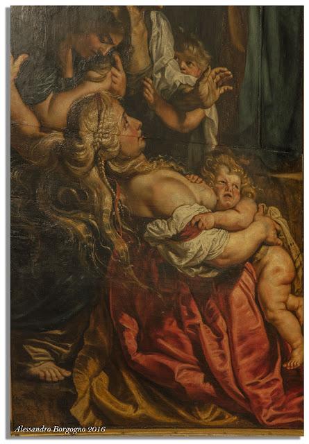 Peter Paul Rubens, L'elevazione della Croce - particolare (Cattedrale di Anversa)