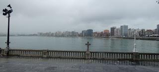 Gijón, Playa de San Lorenzo.