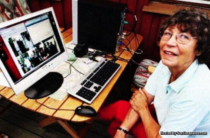 Bayangkan Kelajuan Internet Nenek Ini Ialah 40 Gb Sesaat!