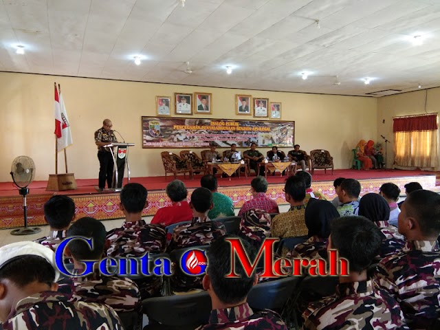 Tekan Peredaran Senpi Ilegal, FKPPI-PWI Mesuji Gelar Dialog Publik
