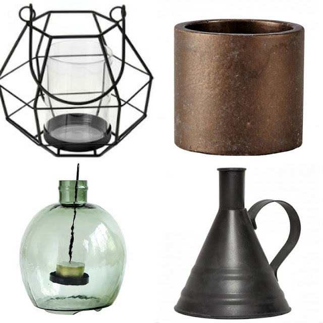 świecznik w stylu industrialnym, loft, jak urządzić loft, prezenty