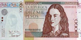 ポリカルパ・サラバリエタの紙幣