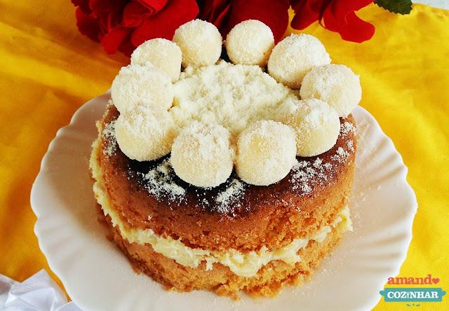 bolo de leite ninho