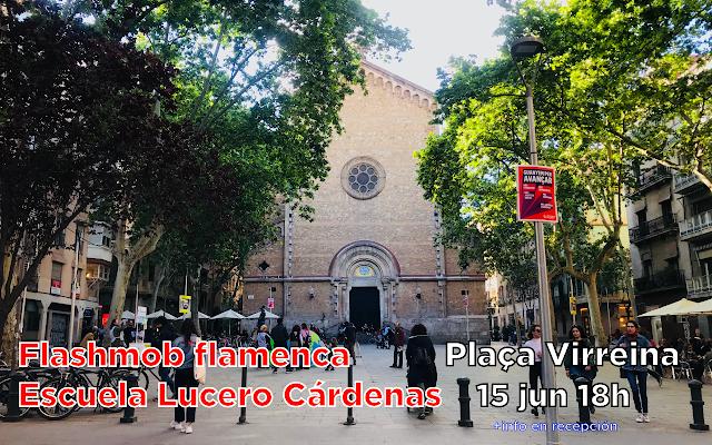 Flashmob Flamenca Escuela Lucero Cardenas Barcelona