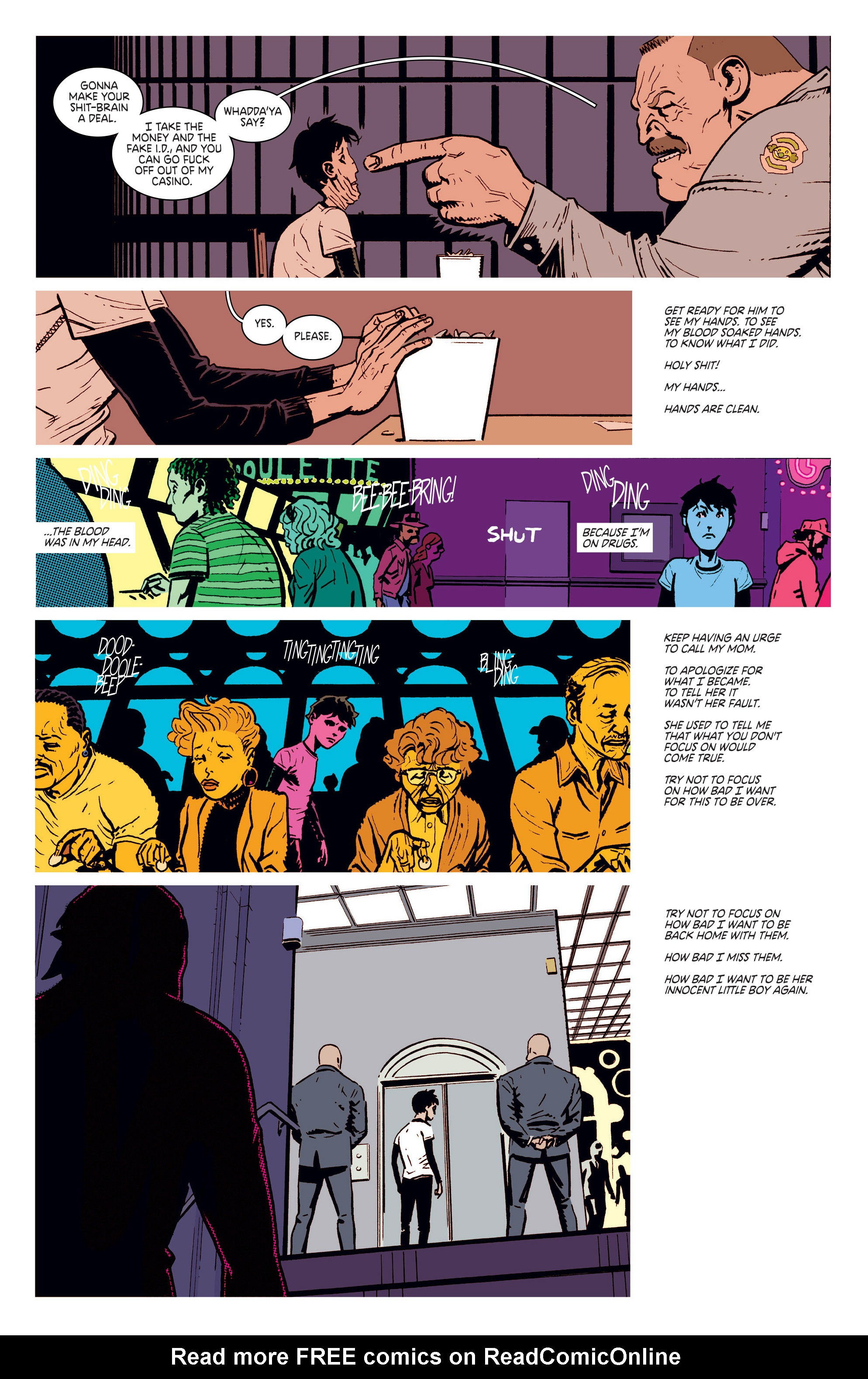 Read online Deadly Class comic -  Issue #5 - 13