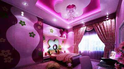 Desain Kamar Tidur Anak Perempuan Mewah Barbie