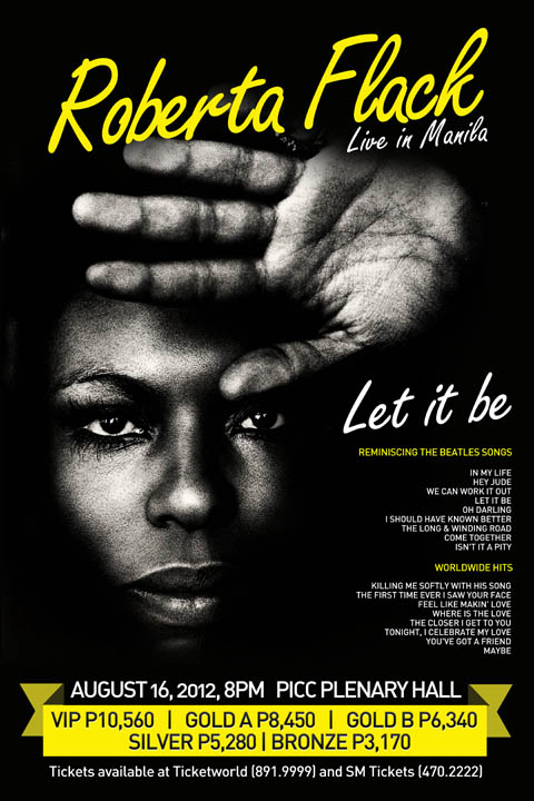 Let It Be: Roberta Flack Live in Manila 2012 ~ Philippine
