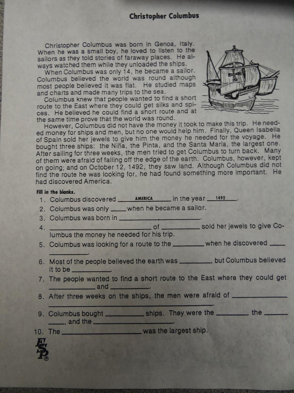 small resolution of Columbus Day Activities – Patties Classroom