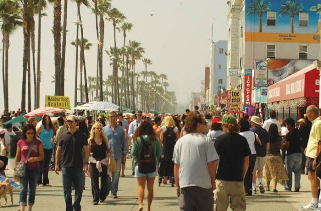 Movimentação de turistas e hospedagens no mês de setembro em Los Angeles