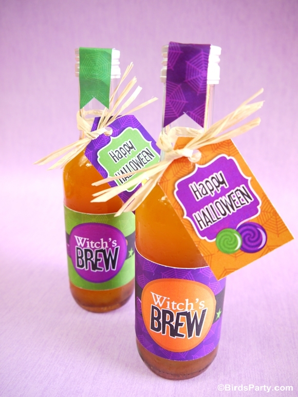 Halloween DIY Party Favors for Adults