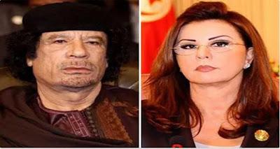 مجلة لبنانية تكشف كيف نجح القذافي في الإيقاع بليلى بن علي و ممارسة الجنس معها