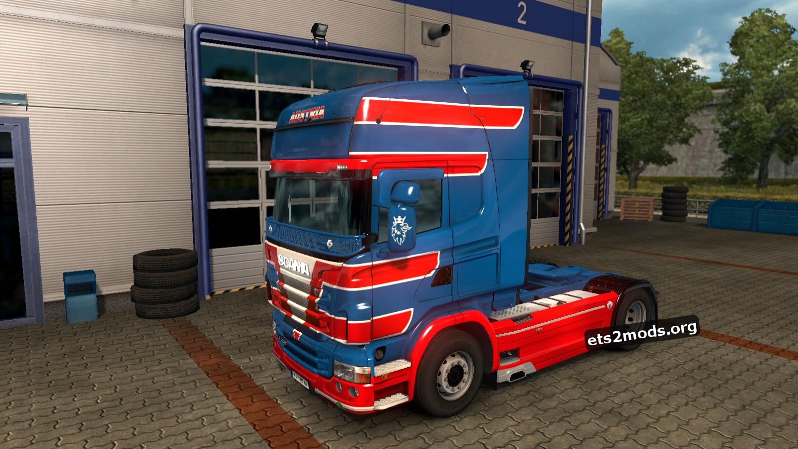 Vögel Transporte Skin for Scania RJL