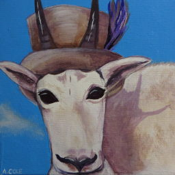 A Tragically Hip Mountain Goat