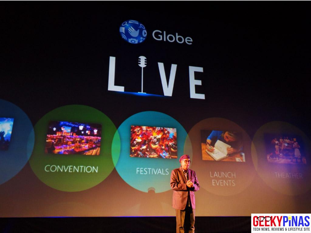 All new Globe Live