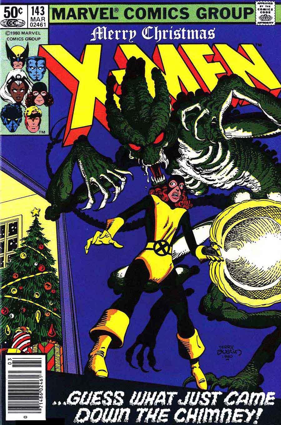 X-men v1 #143 marvel comic book cover art by John Byrne