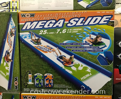 Your kids will enjoy some summer fun with the Wow Mega Water Slide