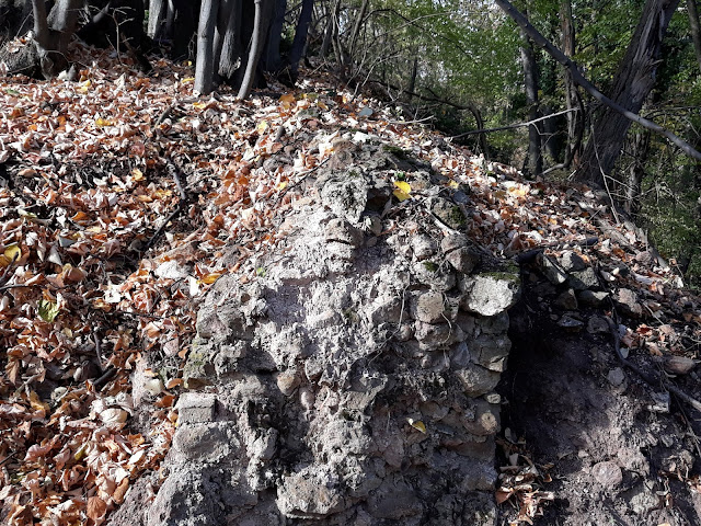 deo zidina gde je neko kopao