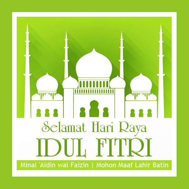 Kumpulan DP Ucapan Lebaran Selamat Idul Fitri 1441 H