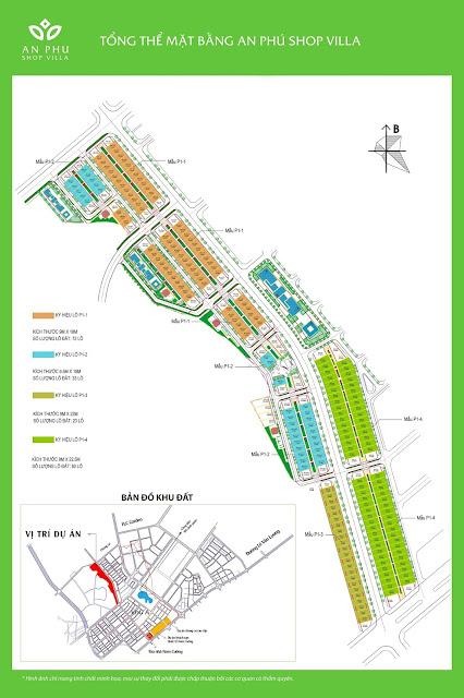 Phối cảnh các khu bên trong dự án Nam Cường