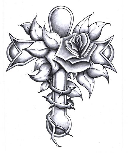 Tattoo Designs Cross: Jesus Christ Tattoos And Cross Tattoos