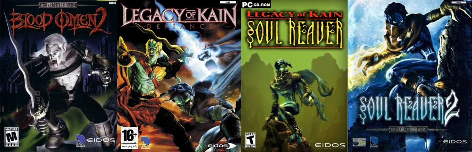Legacy of Kain Collection Download Poster