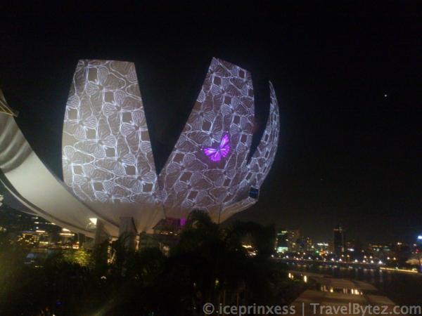 Garden of Light i Light Marina Bay 2012