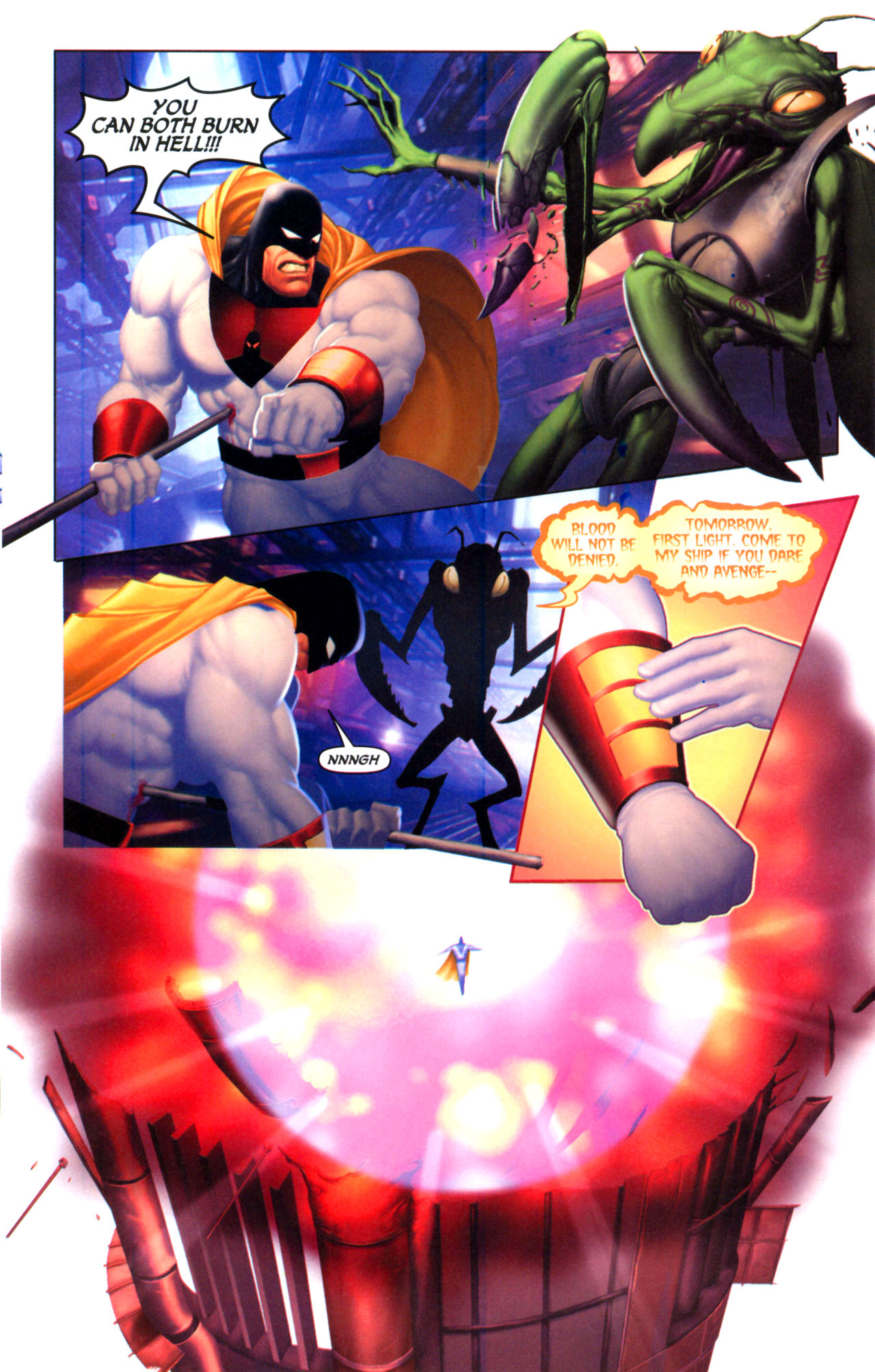 Read online Space Ghost (2005) comic -  Issue #5 - 14