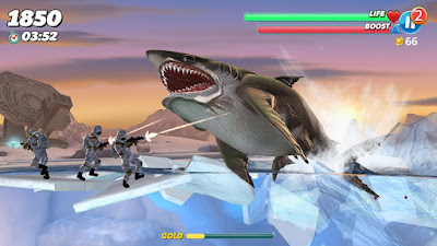 Hungry Shark World v3.0.2 Mod Apk (Unlimited Money)