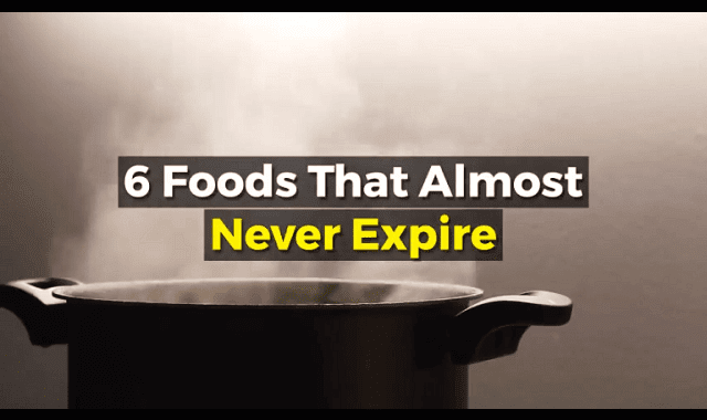 6 Foods That Almost Never Expire