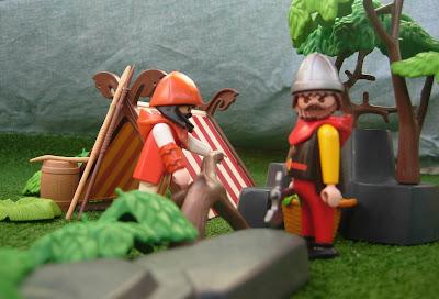 Playmobil custom Viking camp