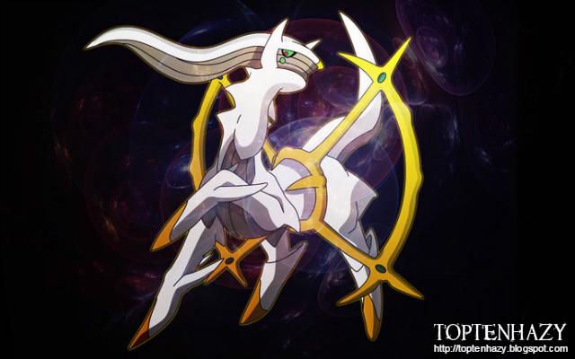 Arceus là Pokemon đầu tiên và mạnh nhất được biết cho đến nay, được xem là  đấng sáng tạo ra cả thế giới Pokemon theo truyền thuyết.