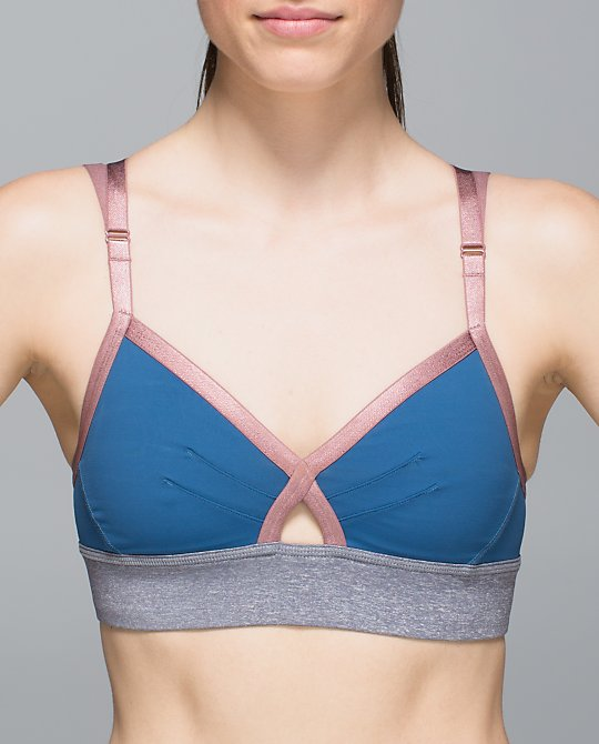 lululemon if you're lucky bra