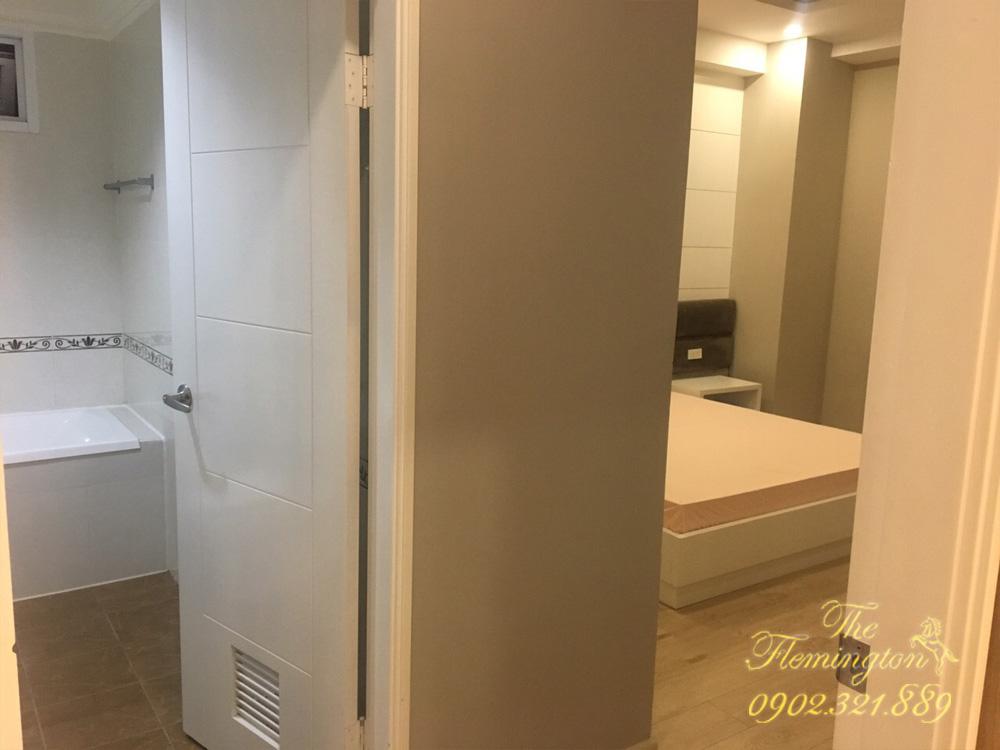 căn hộ flemington cho thuê 2017 - lối vào phòng ngủ và phòng tắm