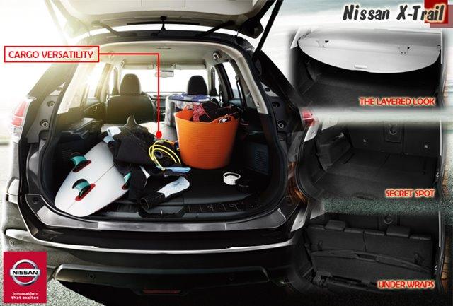 NISSAN X-TRAIL MOBIL SUV PALING LEGA KABINNYA