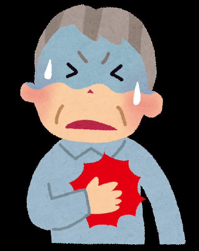 「イラスト 心臓発作 フリー素材」の画像検索結果