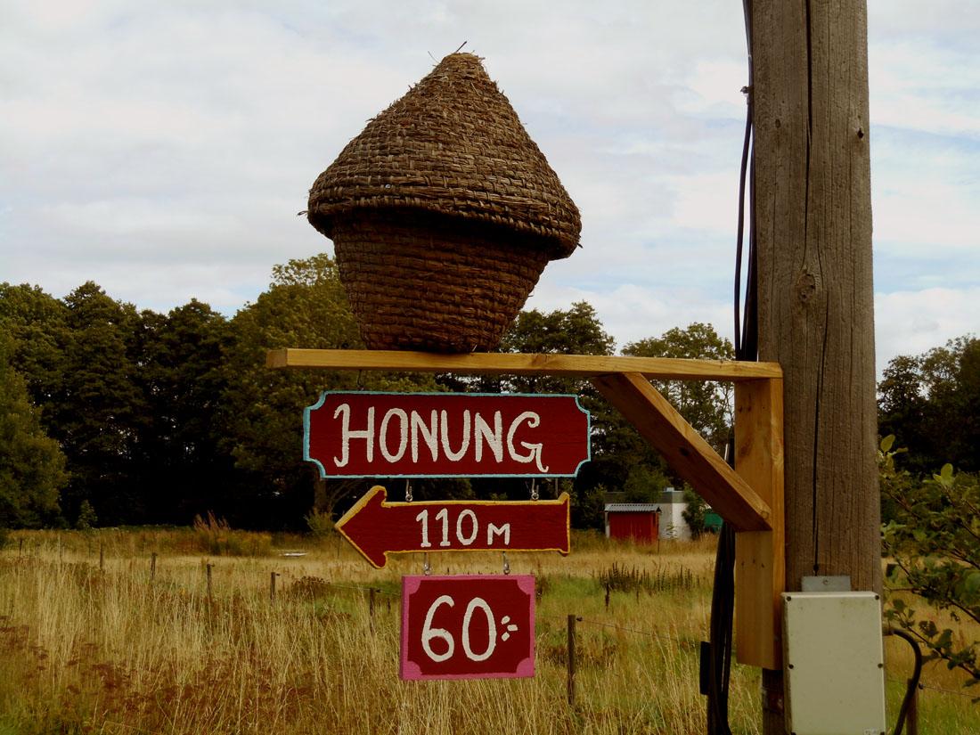 Köpa honung vid Djurröd